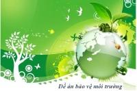 Hướng dẫn thực hiện đề án bảo vệ môi trường