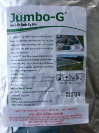 Men vi sinh kỵ khí Jumbo-G - sản phẩm xử lý nước thải hiệu quả nhất hiện nay