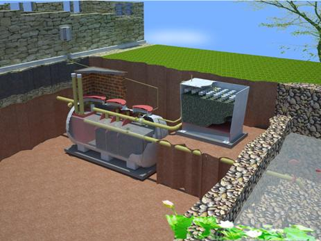 cải tạo hệ thống xử lý nước thải
